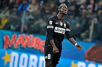 Paul Pogba delusione urlo Juventus.Calcio Parma vs Juventus.Campionato Serie A - Parma 13/1/2013 Stadio Ennio Tardini.Football Calcio 2012/2013.Foto Federico Tardito Insidefoto