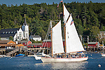 Boating in Boothbay Harbor, ME