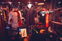 Clothes Shop, Clothing on Display, Fashion Boutique Store, Granville Island, Vancouver, BC, British Columbia, Canada