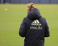 Illustrative picture of the training session of the Belgian Women's National Team ahead of a friendly female soccer game between the national teams of Germany and Belgium , called the Red Flames in a pre - bid tournament called Three Nations One Goal with the national teams from Belgium , The Netherlands and Germany towards a bid for the hosting of the 2027 FIFA Women's World Cup ,on 19th of February 2021 at Proximus Basecamp. PHOTO: SEVIL OKTEM | SPORTPIX.BE
