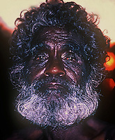 Tribal Aboriginal from Arnhem Land, Northern Territory, Australia