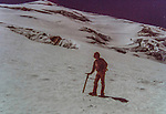 John's naive, solo ascent of Mount St. Helens, Oregon, before the eruption.