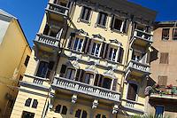 Piazza Carlo Alberto in Ozieri,  Provinz Sassari, Nord - Sardinien, Italien