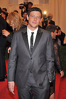 Cory Monteith at the 'Schiaparelli And Prada: Impossible Conversations' Costume Institute Gala at the Metropolitan Museum of Art on May 7, 2012 in New York City. ©mpi03/MediaPunch Inc.
