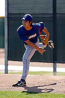 Tae-Hyung Ahn  - Texas Rangers - 2009 spring training.Photo by:  Bill Mitchell/Four Seam Images