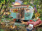 Dona Gelsinger, LANDSCAPES, LANDSCHAFTEN, PAISAJES, paintings+++++,USGE2117,#l#, EVERYDAY ,puzzle,puzzles