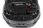 Car Stock 2021 Opel Insignia-Sports-Tourer Ultimate 5 Door Wagon Engine  high angle detail view