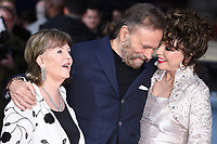 """Pauline Collins, Franco Nero and Dame Joan Collins<br /> arrives for the premiere of """"The Time of Their Lives"""" at the Curzon Mayfair, London.<br /> <br /> <br /> ©Ash Knotek  D3239  08/03/2017"""
