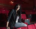 London, UK. 20.01.2014. Dawn Reid, Deputy Artistic Director at Theatre Royal Stratford East, at work. Photograph © Jane Hobson.