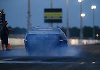 Jan 14, 2015; Jupiter, FL, USA; NHRA pro mod driver Eric Dillard during preseason testing at Palm Beach International Raceway. Mandatory Credit: Mark J. Rebilas-USA TODAY Sports