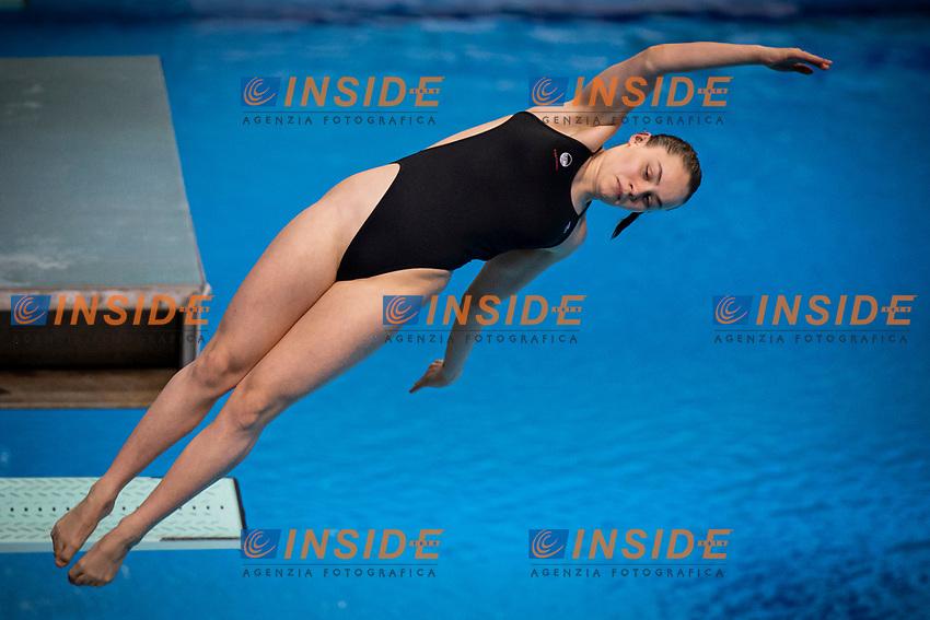 Valore Laura DEN<br /> Diving - Women's 3m preliminary<br /> XXXV LEN European Aquatic Championships<br /> Duna Arena<br /> Budapest  - Hungary  15/5/2021<br /> Photo Giorgio Perottino / Deepbluemedia / Insidefoto