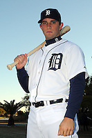 Feb 21, 2009; Lakeland, FL, USA; The Detroit Tigers outfielder Casper Wells (57) during photoday at Tigertown. Mandatory Credit: Tomasso De Rosa/ Four Seam Images