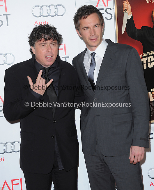 Sacha Gervasi and James D'Arcy at The AFI FEST 2012 Hitchcock Gala Screening held at The Grauman's Chinese Theatre in Hollywood, California on November 01,2012                                                                               © 2012 Hollywood Press Agency