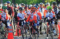 Le tour du silence dans le cadre du Tour de 'Ile 2015<br /> <br /> <br /> PHOTO :  Agence Quebec Presse