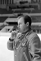 L'entraineur des Remparts de Quebec - Maurice Fillion<br /> , Entre le 13 et le 19 octobre 1969- Agence Quebec Presse