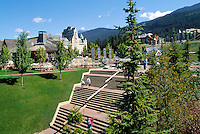 Whistler Blackcomb Resort, BC, British Columbia, Canada, Summer
