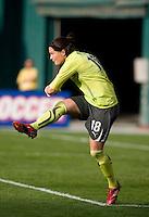 Erin McLeod. The Washington Freedom defeated the Saint Louis Athletica, 3-1.