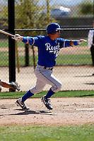Matt Tupman - Kansas City Royals - 2009 spring training.Photo by:  Bill Mitchell/Four Seam Images