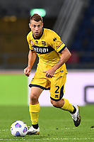Simone Iacoponi <br /> during the Serie A football match between Bologna FC and Parma Calcio 1913 at stadio Renato Dall Ara in Bologna (Italy), September 28th, 2020. Photo Image Sport / Insidefoto