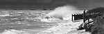 crashing waves Cape Cod beach