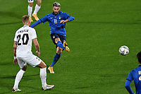 Vincenzo Grifo of Italy scores the goal of 1-0 during the friendly football match between Italy and Estonia at Artemio Franchi Stadium in Firenze (Italy), November, 11th 2020. Photo Andrea Staccioli/ Insidefoto
