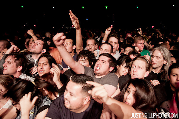 Live concert photo of Descendents and Flag @ Santa Monica Civic Auditorium by http://www.justingillphoto.com