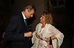 PIERO FASSINO CON STEFANIA CRAXI<br /> PREMIO LETTERARIO CAPALBIO 2003