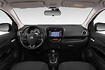 Stock photo of straight dashboard view of 2019 Mitsubishi Spacestar Invite 5 Door Hatchback Dashboard