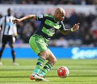 Andre Ayew of Swansea City during the Barclays Premier League match between Newcastle United and Swansea City played at St. James' Park, Newcastle upon Tyne, on the 16th April 2016