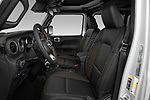 Front seat view of 2021 JEEP Wrangler-Unlimited High-Altitude-4XE 5 Door SUV Front Seat  car photos