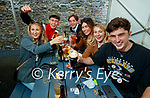 Enjoying some drinks in Quanes, Blennerville on Monday were Niamh O'Connor, Pat Hurley, Francesco Totti, Marian Teehan, Katie McCarthy and Ben O'Brien.