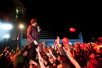 SÃO PAULO, SP, 12.06.2016 - FESTIVAL-SP - A banda inglesa Kaiser Chiefs se apresenta na 20º edição do Festival de música Cultura Inglesa, no Memorial da América Latina, na Barra Funda, nesse domingo 12. (Foto: Gabriel Soares/Brazil Photo Press)