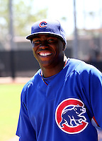 Josh Harrison / Chicago Cubs 2008 Instructional League ..Photo by:  Bill Mitchell/Four Seam Images