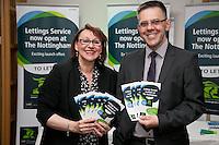 Joy Reynolds and Paul Offey of The Nottingham