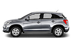 Car Driver side profile view of a 2016 Citroen C4-Aircross Feel-Edition 5 Door Suv Side View