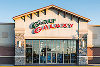 Golf Galaxy specialty retail store.