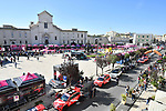 Giovinazzo sign on before the start of Stage 8 of the 103rd edition of the Giro d'Italia 2020 running 200km from Giovinazzo to Vieste, Sicily, Italy. 10th October 2020.  <br /> Picture: LaPresse/Massimo Paolone | Cyclefile<br /> <br /> All photos usage must carry mandatory copyright credit (© Cyclefile | LaPresse/Massimo Paolone)