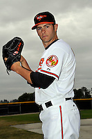 Feb 27, 2010; Tampa, FL, USA; Baltimore Orioles  pitcher Jake Arrieta (57) during  photoday at Ed Smith Stadium. Mandatory Credit: Tomasso De Rosa