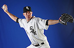 Chicago White Sox Jake Peavy (44) at media photo day on February 19, 2013 during spring training in Glendale, AZ.