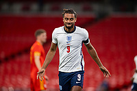 8th Occtober 2020, Wembley Stadium, London, England;  Englands Dominic Calvert-Lewin celebrates after scoring during a friendly match between England and Wales in London