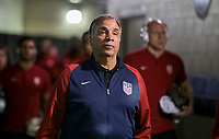Nashville, TN - Saturday July 08, 2017: Bruce Arena during a 2017 Gold Cup match between the men's national teams of the United States (USA) and Panama (PAN) at Nissan Stadium.