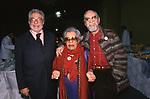 """ETTORE SCOLA, GIOVANNA CAU E NINO MANFREDI - EVENTO ELETTORALE """"VELTRONI SINDACO"""" ROMA  2001"""