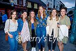 Enjoying the evening in Killarney on Thursday, l to r:  Caroline Wall, Marie Fealan, Zara McQuinn, Katie O'Hanlon (Tralee), Catherine O'Dwyer and Ciara Molloy.