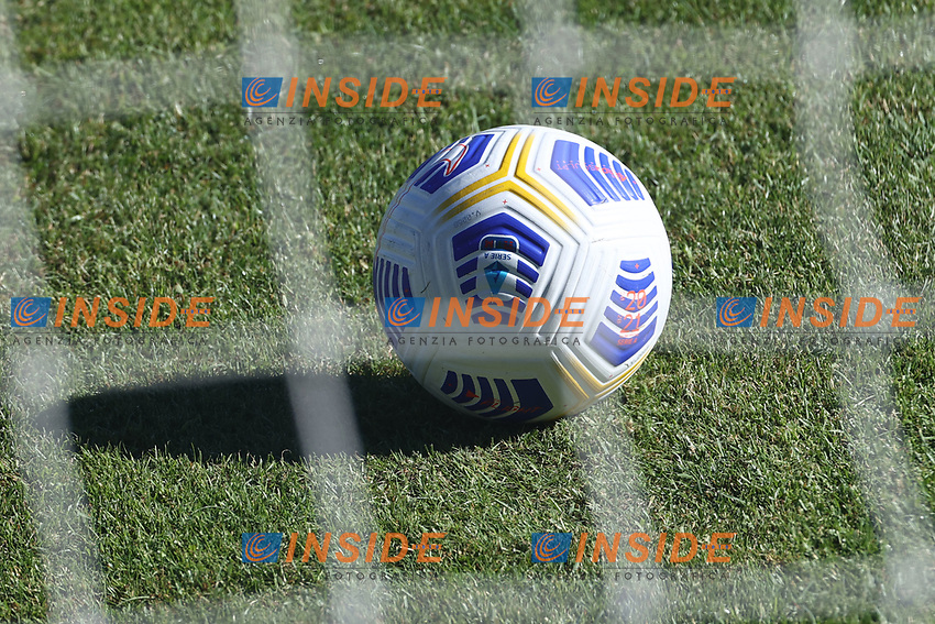 Ball Nike Flight Serie A 2020/2021<br /> during the friendly football match between SSC Napoli and SS Teramo Calcio 1913 at stadio Patini in Castel di Sangro, Italy, September 04, 2020. <br /> Photo Cesare Purini / Insidefoto