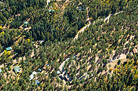Beulah, Colorado aerial. Oct 2019 Pueblo Mountain Park