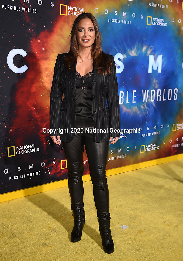 """LOS ANGELES - FEBRUARY 26: Alex Meneses attends National Geographic's 2020 Los Angeles premiere of """"Cosmos: Possible Worlds"""" at Royce Hall on February 26, 2020 in Los Angeles, California. Cosmos: Possible Worlds premieres Monday, March 9 at 8/7c on National Geographic. (Photo by Frank Micelotta/National Geographic/PictureGroup)"""