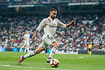 Daniel Carvajal Ramos of Real Madrid runs with the ball during the La Liga 2018-19 match between Real Madrid and CD Leganes at Estadio Santiago Bernabeu on September 01 2018 in Madrid, Spain. Photo by Diego Souto / Power Sport Images