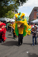 Dragon Fest 2015, Chinatown, Seattle, Washington State, WA, America, USA.