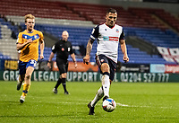 Bolton Wanderers' Antoni Sarcevic controls the ball<br /> <br /> Photographer Andrew Kearns/CameraSport<br /> <br /> The EFL Sky Bet League Two - Bolton Wanderers v Mansfield Town - Tuesday 3rd November 2020 - University of Bolton Stadium - Bolton<br /> <br /> World Copyright © 2020 CameraSport. All rights reserved. 43 Linden Ave. Countesthorpe. Leicester. England. LE8 5PG - Tel: +44 (0) 116 277 4147 - admin@camerasport.com - www.camerasport.com