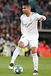 Real Madrid's Carlos Henrique Casemiro during La Liga match. March 1,2020. (ALTERPHOTOS/Acero)